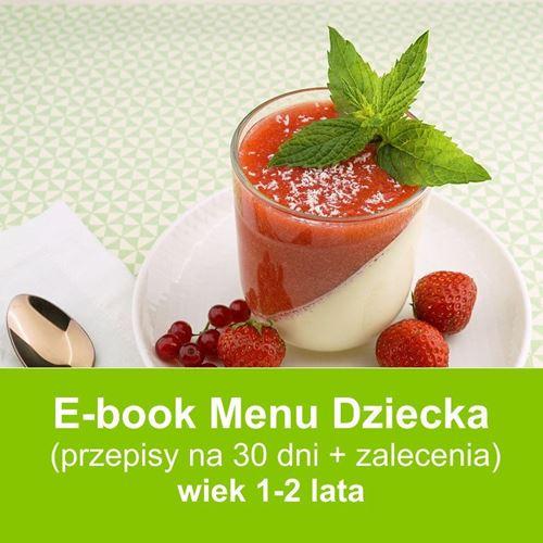 E-book Menu dla Dzieci 1-2 portalu Przepisy-dla-dzieci.pl