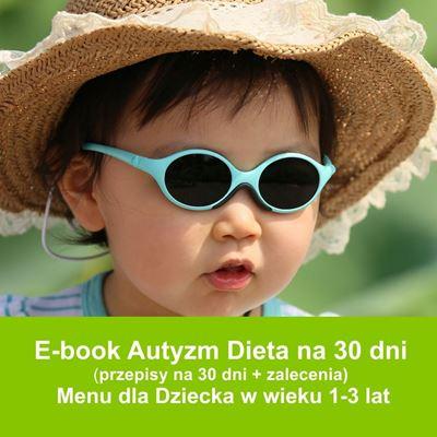 E-book Dieta w Autyzmie dla Dzieci na 30 dni