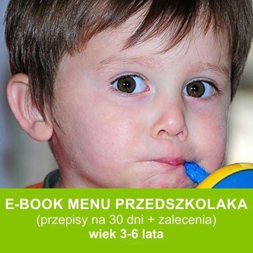 Menu przedszkolaka to zbiór smacznych i zdrowych przepisów dla dzieci